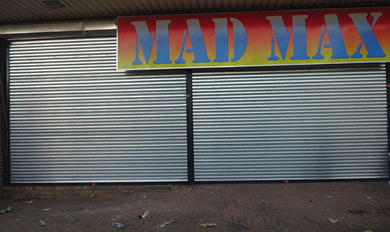 roller shutter door maintenance